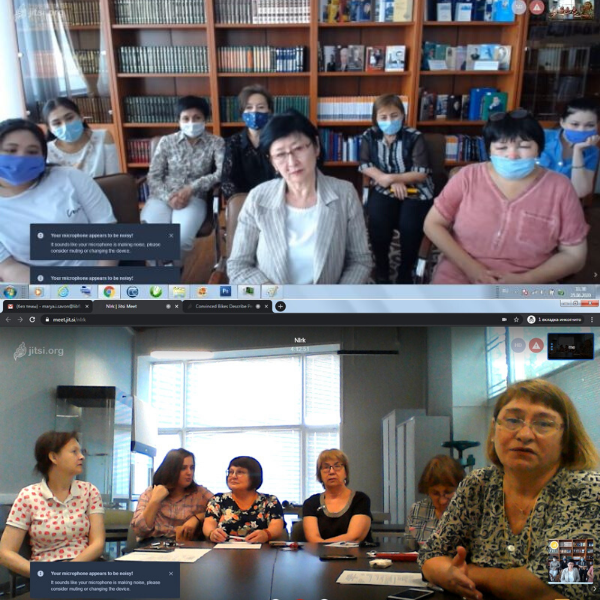 Librarians meet virtually to discuss preservation and conservation