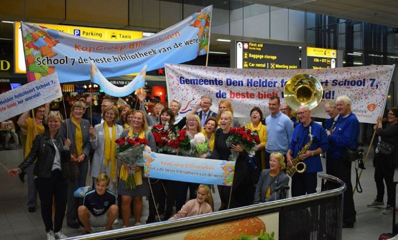 School 7 delegates are welcomed home to the Netherlands