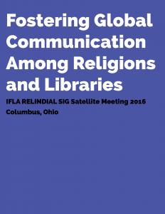 Fostering Global Communication Among Religions and Libraries