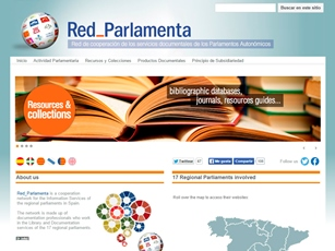 Red_Parlamenta home page
