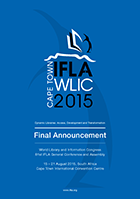IFLA WLIC 2015 Final Announcement: Interactive Version